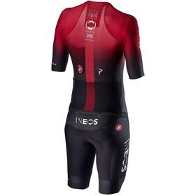 Castelli Team Ineos Sanremo 4.1 Speed Combinaison de protection Homme, dark red